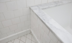 SKY Marble Restoration: Shower Grout Cleaning Package from SKY Marble Restoration (30% Off)