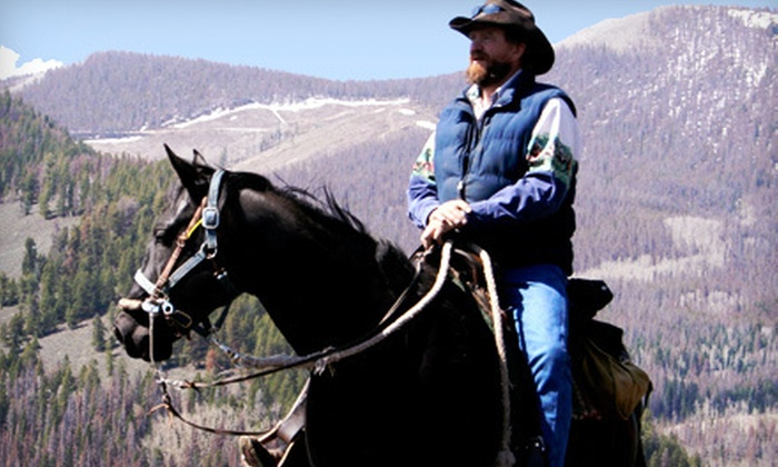 High Country-Trails - Granby: Two-Hour Horseback Trail Ride for Two, Four, or Six from High Country-Trails in Granby (Up to 55% Off)