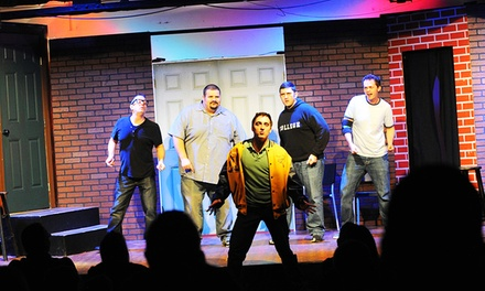 Improv Comedy Show Including Beer or Wine for Two at Sak Comedy Lab, August 23–December 27 (Up to 50% Off)