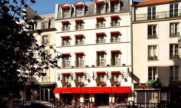 H tel s vres saint germain en paris le de france for Groupon hotel paris