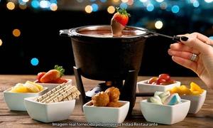 Indaiá Restaurante: Itapema:fondue de 4 queijos e chocolate todos os dias para 2 pessoas com até 54% de desconto