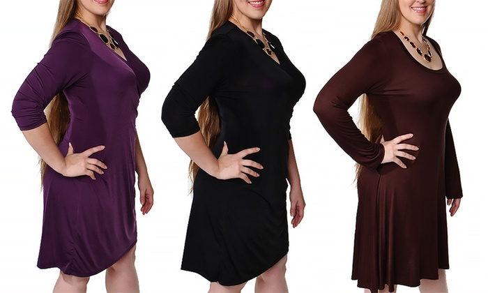 6660b4d185d Women s Plus Size Dress
