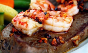 The Reef Steak and Seafood: $17 for $30 Worth of Steak and Seafood at The Reef Steak and Seafood