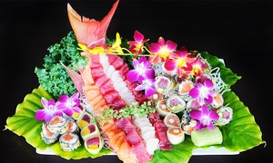 Asian Fin Restaurant: Asian-Fusion Dinner and Drinks for Two, Four, or Six at Asian Fin Restaurant (Up to 44% Off)