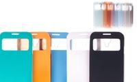 Carcasa con tapa y ventana para Samsung Galaxy S4