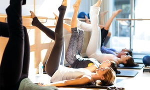 Barre3: Four barre3 Fitness Classes or One Month of Unlimited barre3 Fitness Classes at barre3 (Up to 58% Off)