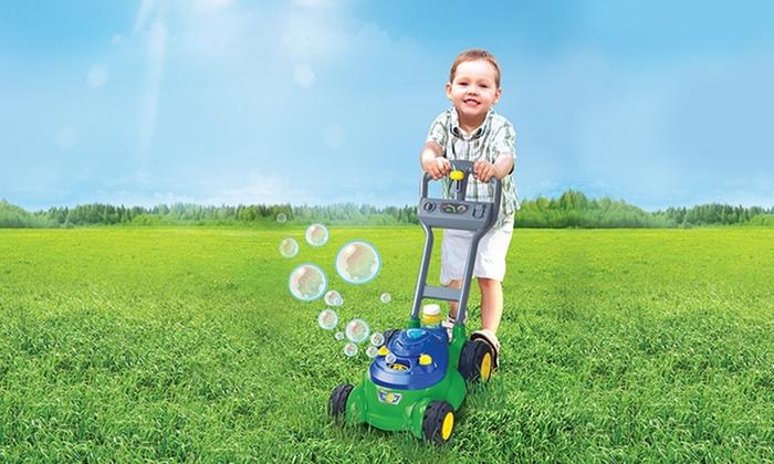 B Kids Bubble Lawn Mower Groupon Goods