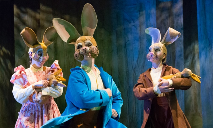 """""""Peter Rabbit Tales"""" - Suffolk Center for Cultural Arts: """"Peter Rabbit Tales"""" on Saturday, January 16, at 3 p.m."""