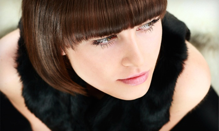RockinStylist Salon - Phillipsburg: Haircut Package with Optional Color, Partial Highlights, or Full Highlights at RockinStylist Salon (Up to 62% Off)