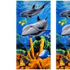 """2-Pack of Cotton Printed 30""""x60"""" Beach Towels"""