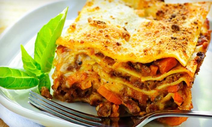 Giuliano's Italian Restaurant - Royal Lakes: Italian Dinner Food for Two or Four at Giuliano's Italian Restaurant (Half Off)