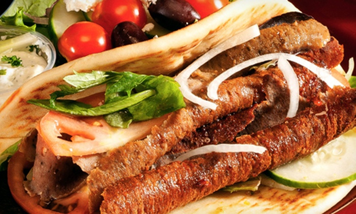 The Fat Greek - St Louis/Waialae: Mediterranean Cuisine for Two or Four at The Fat Greek (Half Off)
