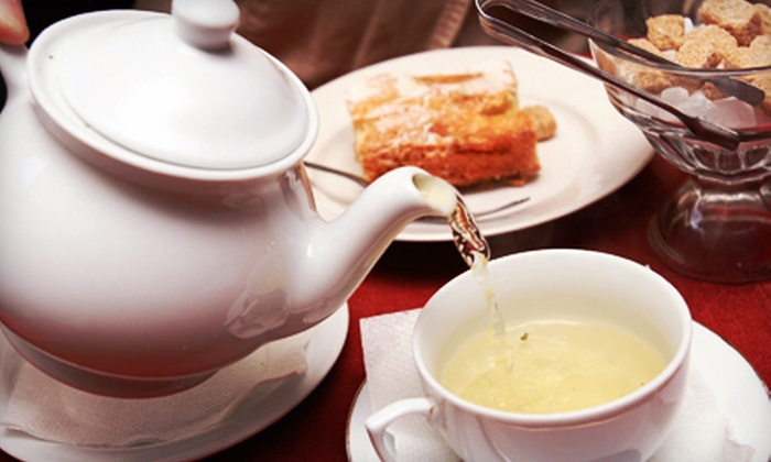 The Grande - Kennesaw: Full Parlor Tea for Two, Four, or Six at The Grande (Up to 54% Off)