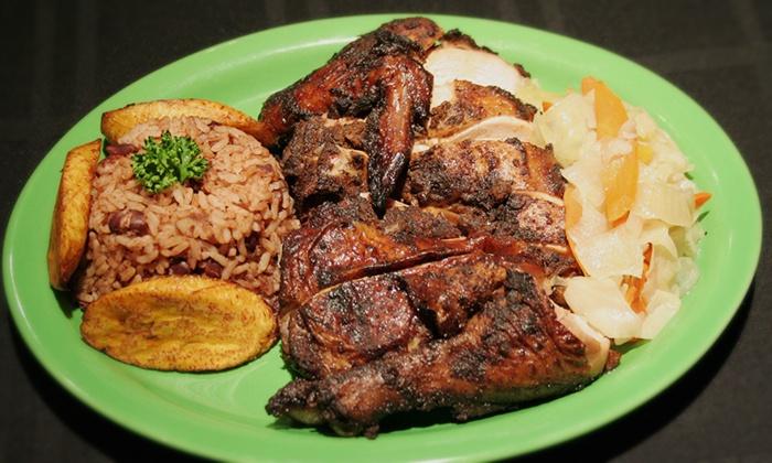 Ja' Grill Restaurant & Lounge - DePaul: Jamaican Cuisine at Ja' Grill Restaurant & Lounge (Up to 50% Off). Two Options Available.