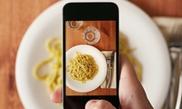 GROUPON: Eat Like an Italian and Practice Smartphone Photography in a Garden Italian Meal and Food Photography Class