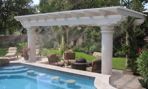 Mist Cooling Inc: $35 for Patio-Cooling Mister System from Mist Cooling Inc. ($70 Value)