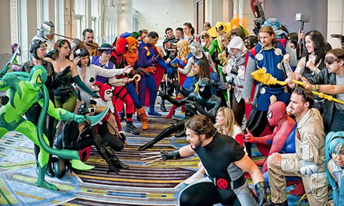 """Philadelphia Comic Con"" - Pennsylvania Convention Center: Regular or Early Entrance to the Philadelphia Comic Con 2013 Wizard World Convention on May 30 or June 2 (Up to 56% Off)"