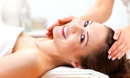 Ayurvedic Facial, Deep Tissue Massage, or Both at Adonia Skin Wellness Spa LLC (Up to 54% Off)