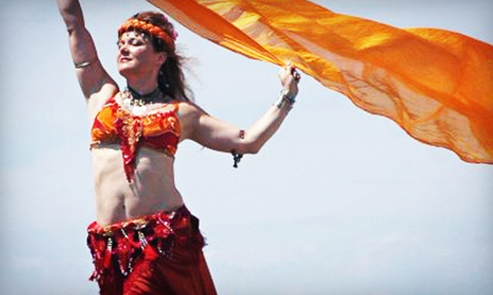 The Dancing Spirit Studio - Tiverton: 10 Belly Dance Arts Classes or 15 Belly Dance Fitness Classes at The Dancing Spirit Studio (Up to 76% Off)