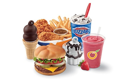 $12for $20Worth of Food, Drinks, and Ice Cream at Dairy Queen- Marshalltown