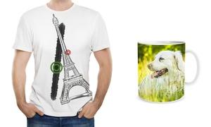 FELTYDE DI FULCINITI GIUSEPPE: Una maglietta o tazza personalizzata con foto (sconto fino a 67%)