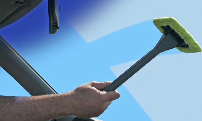 as seen on tv handy ez windshield wiper 1 2 or 4 pack livingsocial. Black Bedroom Furniture Sets. Home Design Ideas