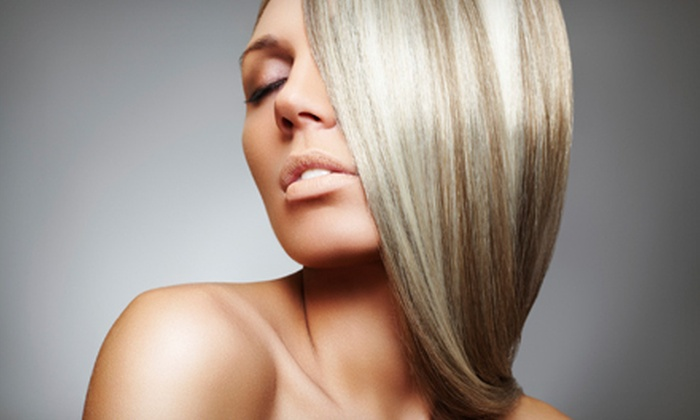 [NV] Salon - Gahanna: One, Two, or Three Keratin Hair-Straightening Treatments at [NV] Salon in Gahanna (Up to 73% Off)