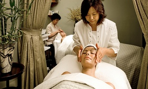 TriBeca Spa of Tranquility: $99 for a Peel and Lift Facial with Foot-Reflexology Massage at TriBeca Spa of Tranquility ($200 Value)