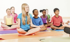 Bikram Yoga East Valley: $65 for 10 Kids Zone Yoga Classes at Bikram Yoga East Valley($120 Value)