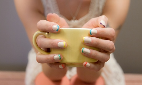 One Basic or Gel Manicure at Julie's Hands Nail Studio (Up to 35% Off)