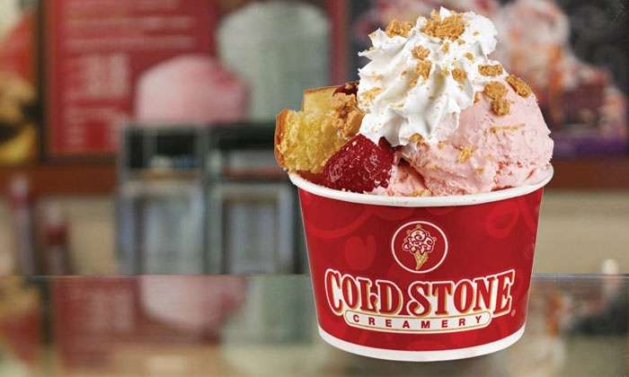 Cold Stone Creamery - Multiple Locations: Ice Cream for Two or Four at Cold Stone Creamery (Up to 53% Off)