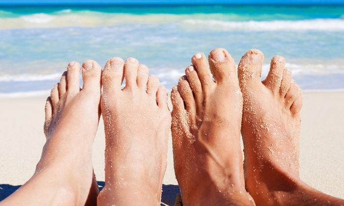 HCS Medspa - Multiple Locations: $149 for One Comprehensive Laser Toenail Fungus Treatment on Ten Toes at HCS Medspa ($450 Value)