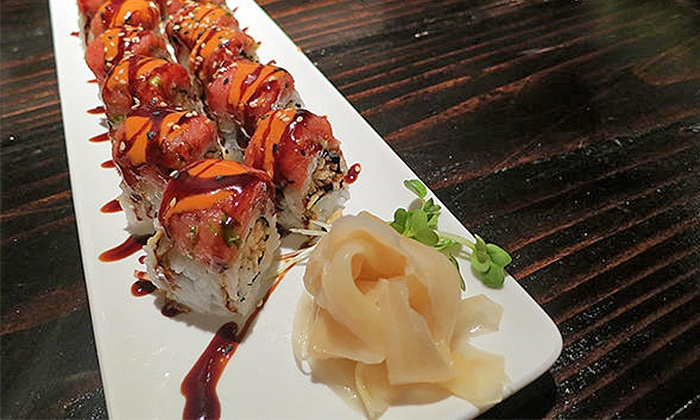 Ebaes - Downtown/USC: Ramen and Sushi Meal for Two or Four at Ebaes (Up to 48% Off)