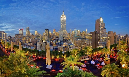 $55 for $100 Worth of Rooftop-Lounge Food and Drinks at 230 Fifth