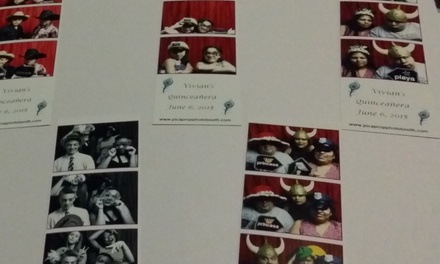 $384 for $699 Worth of PhotoBooth Rental  Pic A Prop Photobooth