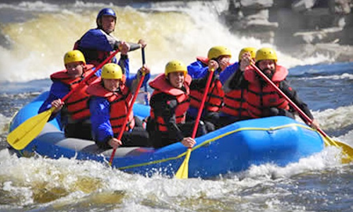 Black River Outfitters - Watertown: Whitewater Rafting with Wetsuit Rentals for Two or Four from Black River Outfitters (Up to 55% Off)
