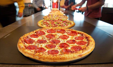 Pizza At Cici S Pizza Cici S Pizza Groupon