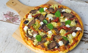 The Mediterranean: $12.50 for a Large Pizza to Takeaway at The Mediterranean, Birkenhead (Up to $26.50 Value)