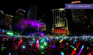 Night Nation Run: $29 for Entry to a Nighttime 5K Music Festival from Night Nation Run on Saturday, April 23 ($60 Value)
