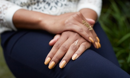 One or Two Gel Manicures with Optional Spa Pedicures at Envy Hair International (Up to 66% Off)