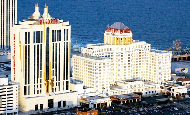 Resorts Casino Hotel - Atlantic City, NJ: Stay with Spa Access for Two and $20 Dining Credit at Resorts Casino Hotel in Atlantic City, NJ. Dates into November.