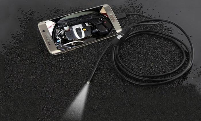 Microcamera HD con luce LED
