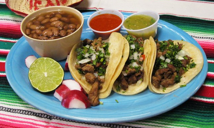 Super Mex - Multiple Locations: Mexican Food and Drinks at Super Mex (Up to Half Off). Two Options Available.