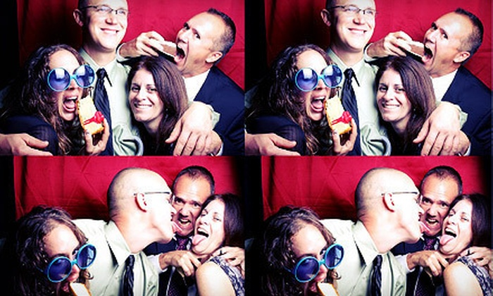 Florida Moment: Three- or Five-Hour Photo-Booth Rental with Attendant and Unlimited Instant Prints from Florida Moment (Up to 63% Off)