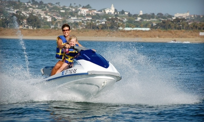 Adventure Water Sports - Mission Bay Park: $49 for One-Hour WaveRunner Rental from Adventure Water Sports ($100 Value)