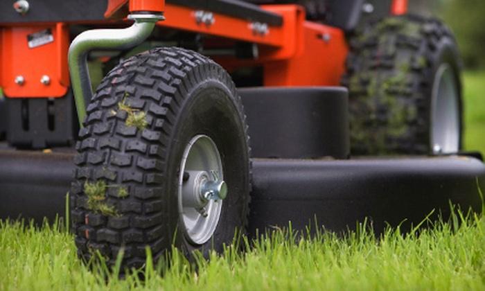 Lawn Man Landscaping - Arva: 4, 8, 12, or 16 Weeks of Basic Lawn Care from Lawn Man Landscaping (Up to 68% Off)