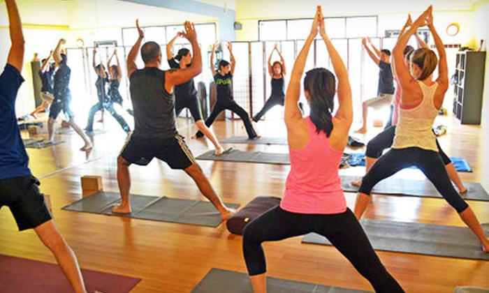 Heal and Soul Yoga & Tai Chi - Encino: Yoga Classes, Surfing Lessons, or Membership at Heal and Soul Yoga & Tai Chi (Up to 64% Off). Three Options Available.