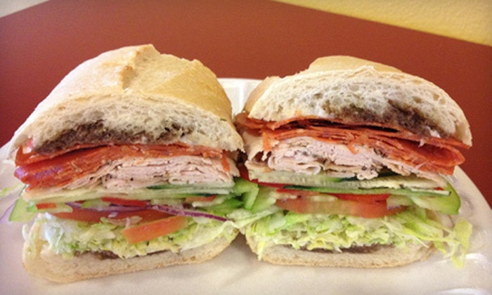 San Francisco Style Sourdough Eatery - Multiple Locations: $9.99 for Two Sandwiches with Drinks and Choice of Side at San Francisco Style Sourdough Eatery (Up to $19.98 Value)