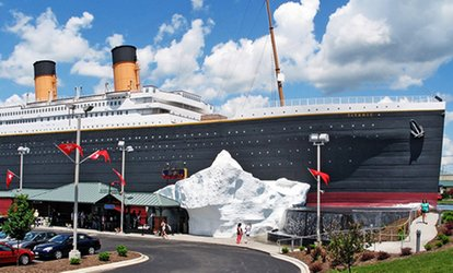 image for Titanic Branson Museum Visit for One, Two, or a Family (Up to 28% Off)