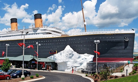 Museum Visit for Two Adults or Two Adults and Two Kids to Titanic Branson (Up to 38% Off)